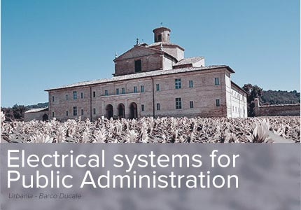 Electrical systems for the Public Administration